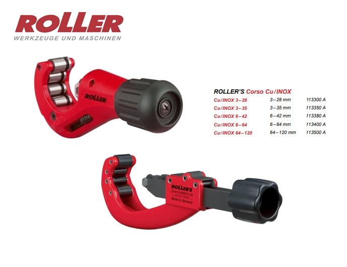 ROLLER Corso Cu- INOX Pijpsnijder 3-35mm