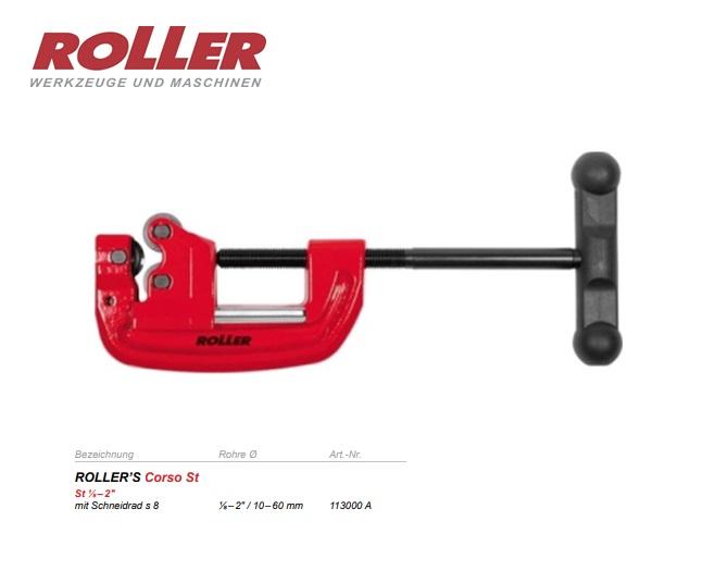 Roller Pijpsnijder Corso St 10-63 mm