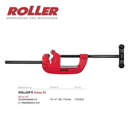 Roller Pijpsnijder Corso St 30-115mm 1-4