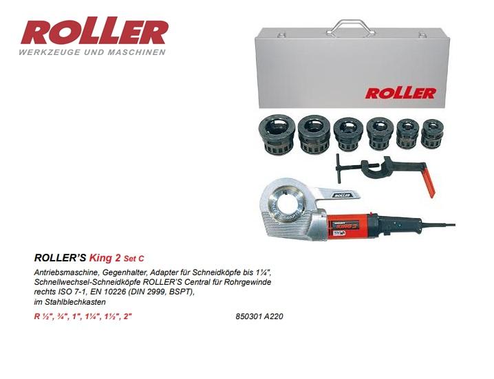 ROLLER King 2 Handbediende aandrijfmachines 1/8