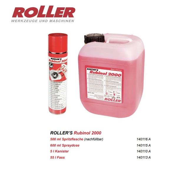 Roller Rubinol 2000 Snijolie 5 ltr