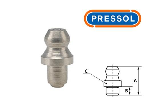 Kegelsmeernippel H1 A-recht Ø 5 mm-VA-Rond-ESN