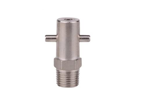 Vetnippel 1/8`` staal BSP SBA1 Bajonet Pin Type