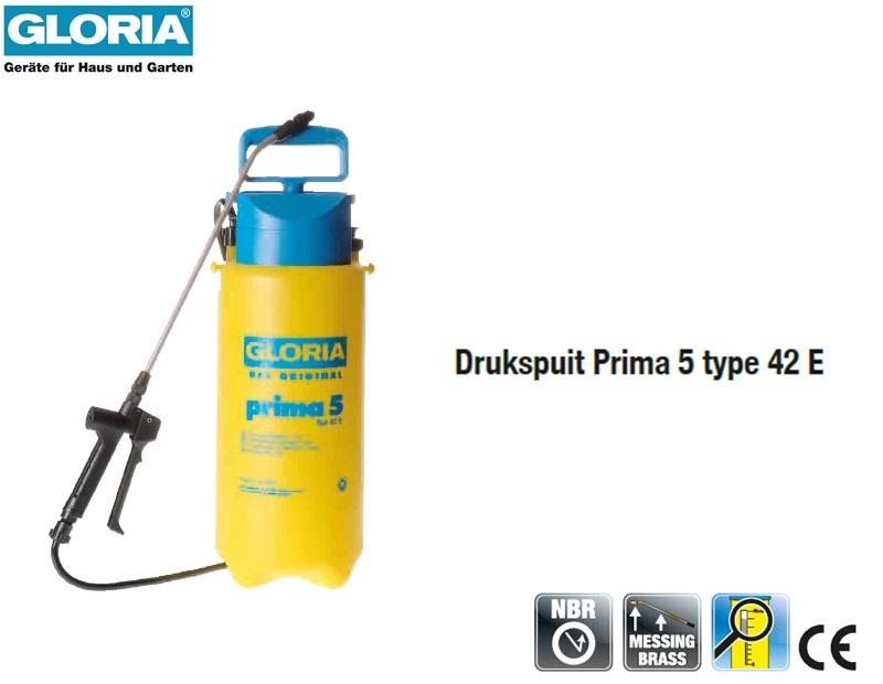 Drukspuit Gloria Prima 5 - 5 liter 42E