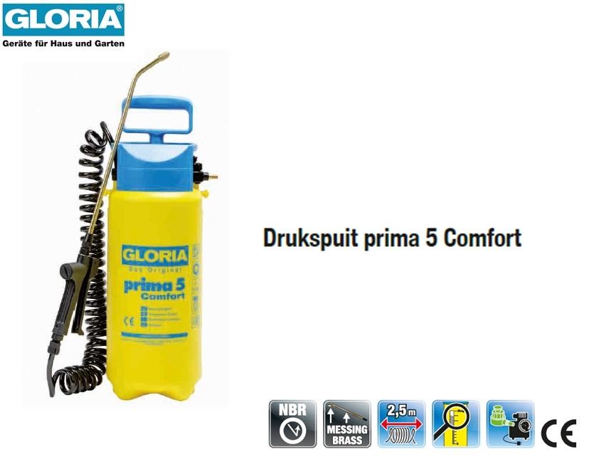 Drukspuit Gloria Prima 5 Comfort - 5 liter