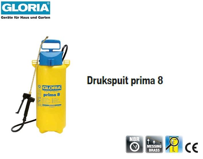 Drukspuit Gloria Prima 8 - 8 liter