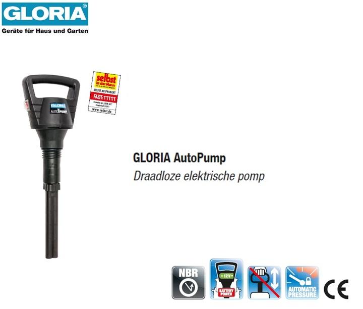 Gloria electro- accu pomp easy spray