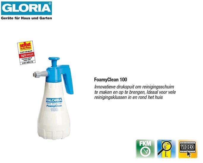 Gloria Foamy Clean 100 Schuim drukspuit - 1 liter