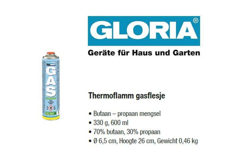 Thermoflamm gasflesje 600ml./330gram