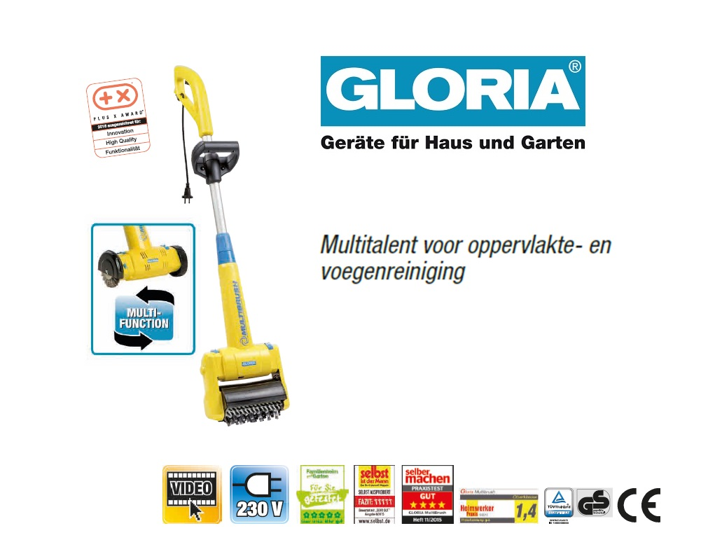Gloria Multibrush