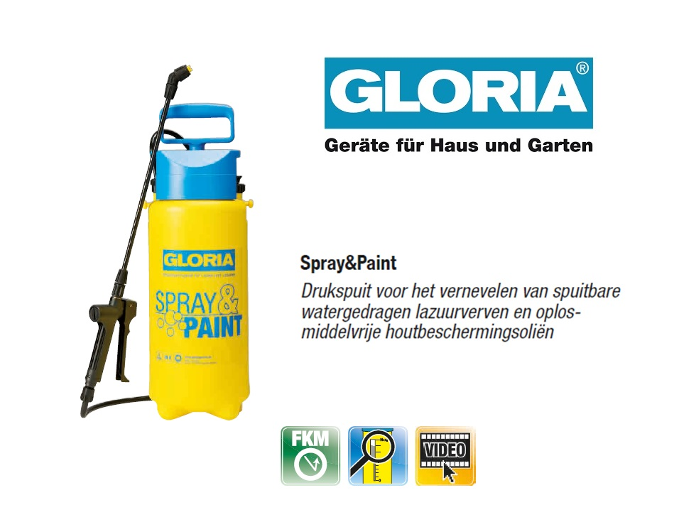 Gloria Spray & Paint - 5 liter