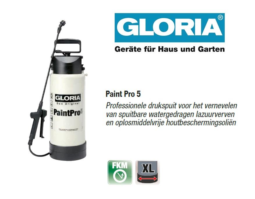 Gloria Spray & Paint Pro - 5 liter