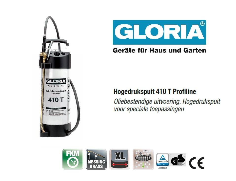 Hogedrukspuit Staal Gloria 405T Profiline - 10 liter