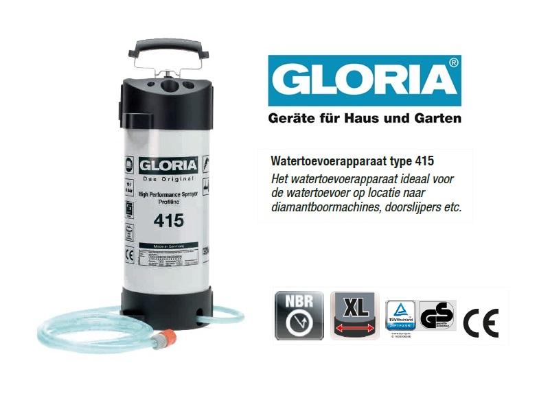 Watertoevoerapparaat Staal 415 Profiline - 10 liter