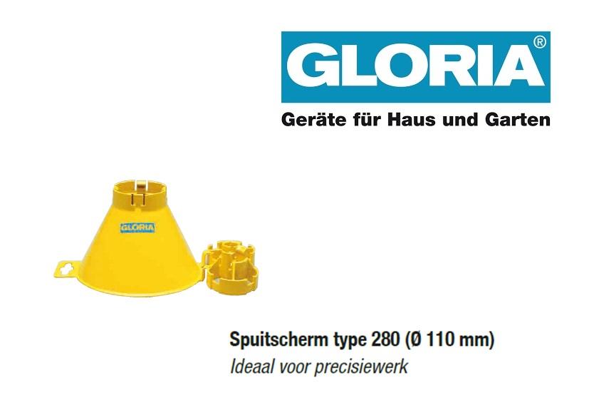 Spuitscherm tbv Gloria drukspuiten (type 280)