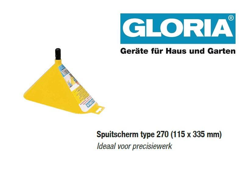 Spuitscherm tbv Gloria drukspuiten (type 270)