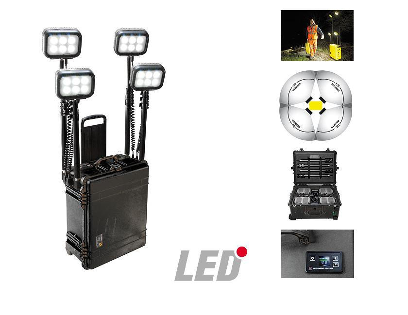 Peli 9470 4 x 6 LED Remote Area Lighting System (RALS)