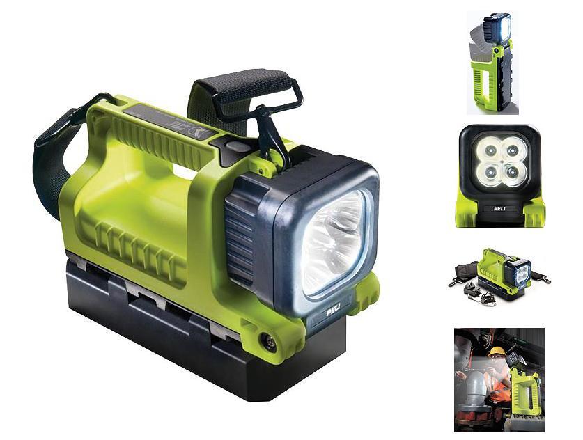 Peli 9410 Led 4 Accu Led Handlamp Peli 9410-001-245