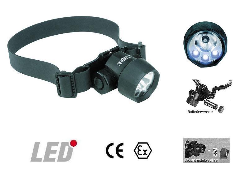 Peli 2620 3-LED Hoofdlamp Xenon-Birne