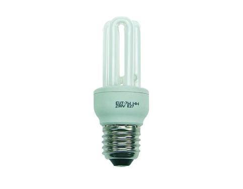 Spaarlamp 11 Watt schokvrij fitting E27