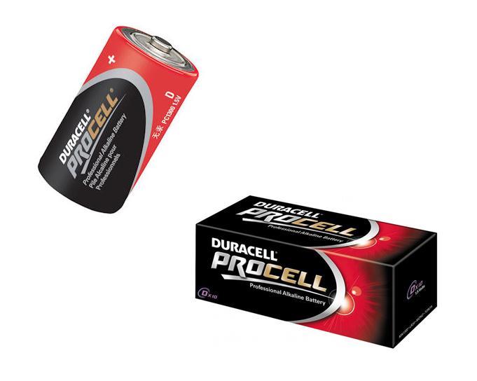 Procell batterij D 1,5V LR20 Duracell PC1300