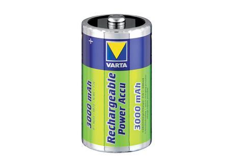 VARTA D oplaadbare Batterij 1,5 V Mono 3.0Ah R20 VARTA 56720