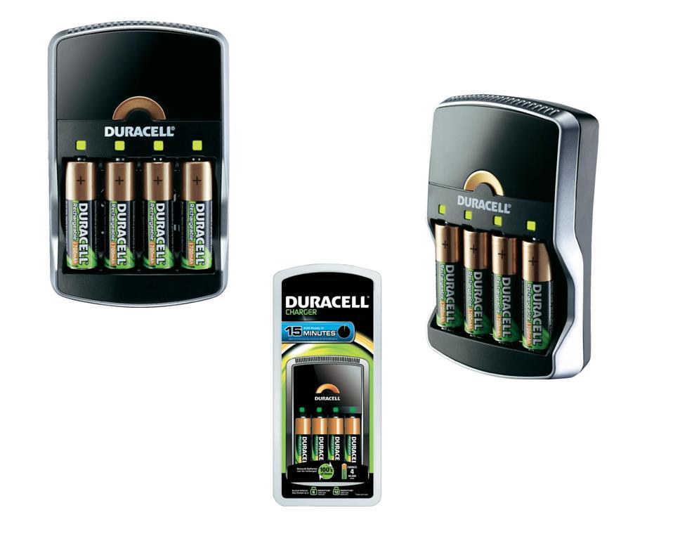 Duracell Batterijlader CEF15 DUR036444