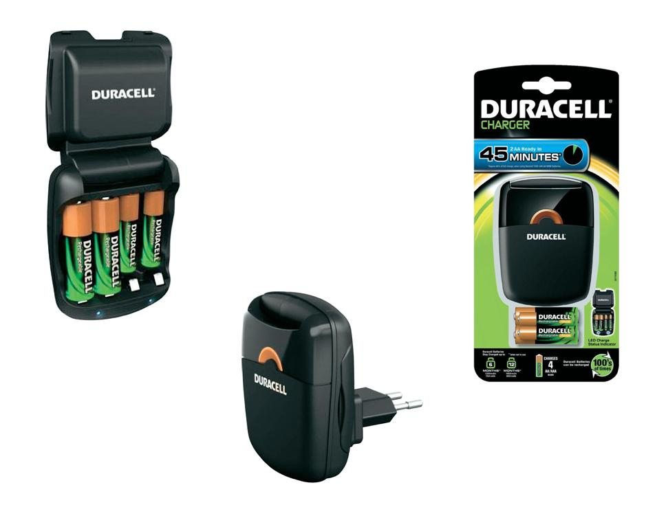 Duracell Batterijlader CEF27 DUR036529