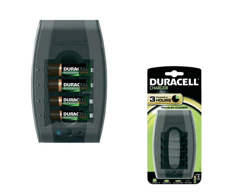 Duracell Batterijlader CEF23 DUR037472