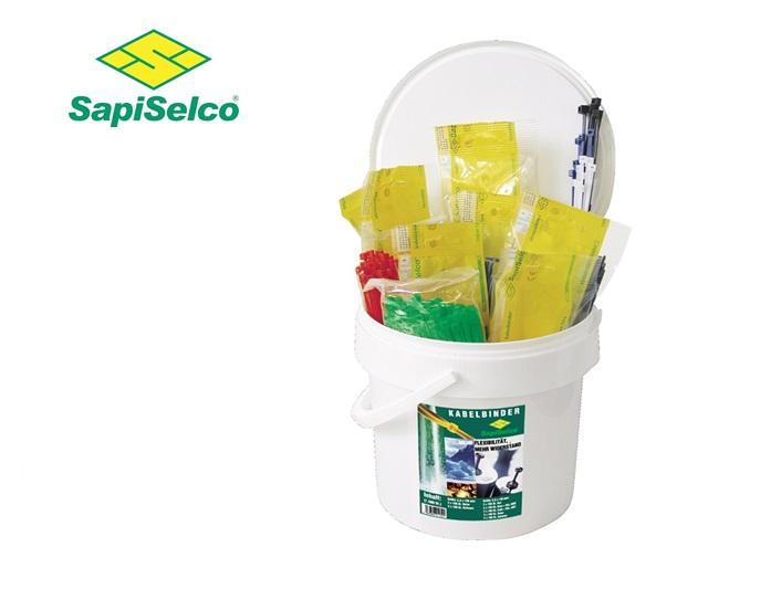 Kabelbinders Set 1500 stuks Sapi Selco 105-120RP