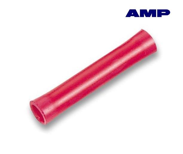 Aderdoorverbinder rood AMP 34070