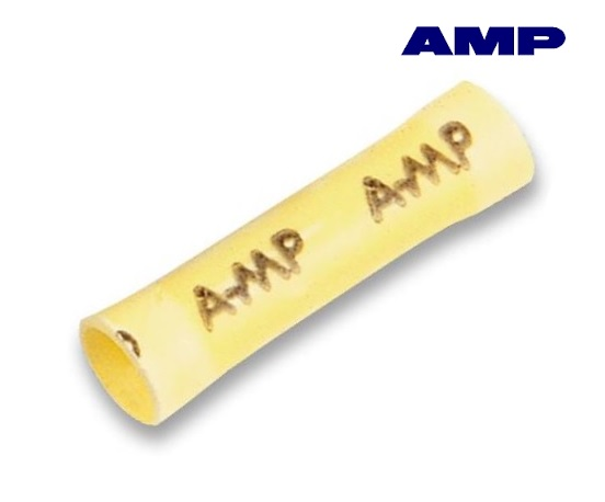 Aderdoorverbinder geel AMP 34072