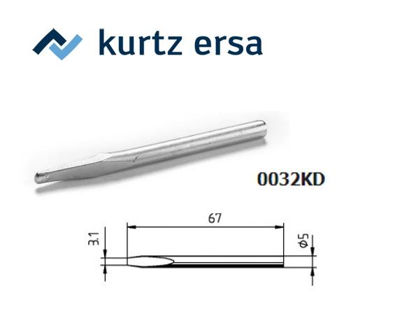 Ersa Soldeerpunt 30 + 40 Watt, beitelvormige ERSA 0032KD