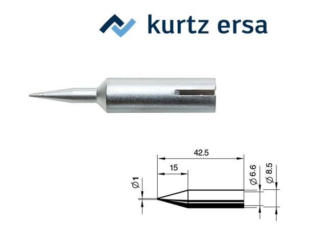 Soldeertip potloodtip 1mm ERSA 0842BDLF/SB