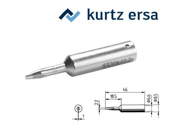 Soldeertip Beitelvorm 2,2mm ERSA 0832CDLF/SB