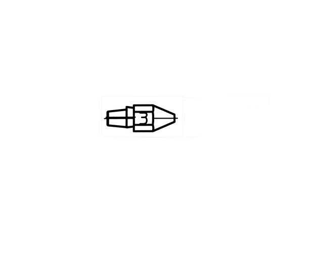 Weller desoldeerstift DX-113 HM/ 100st WELLER 51315011