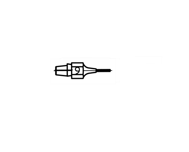 Weller desoldeerstift DX-119 / 10st WELLER 51315110