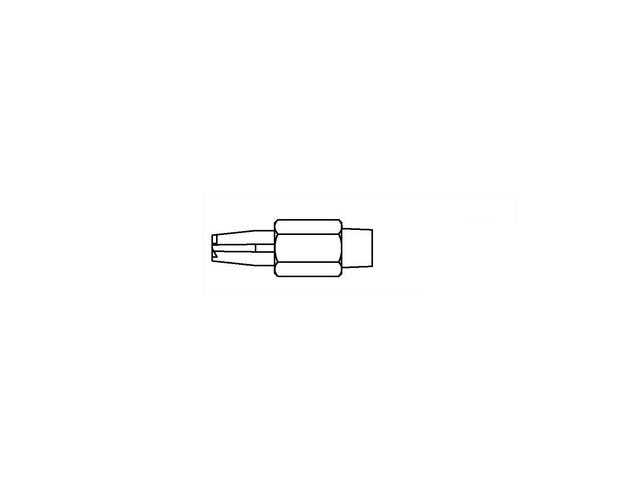 Weller desoldeerstiften DX-110-115/ set 6st WELLER 51379099