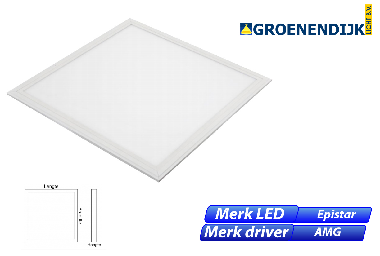 Meba 95 Clean-Lux 36W 3960lm 830 600x600 wit