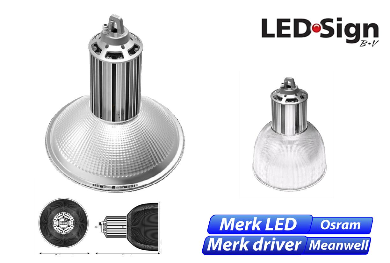 Deca LED 80W 6412lm 840 IK06 zilver