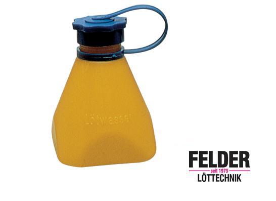 Soldeerwaterfles geel 150 ml Felder 27110000