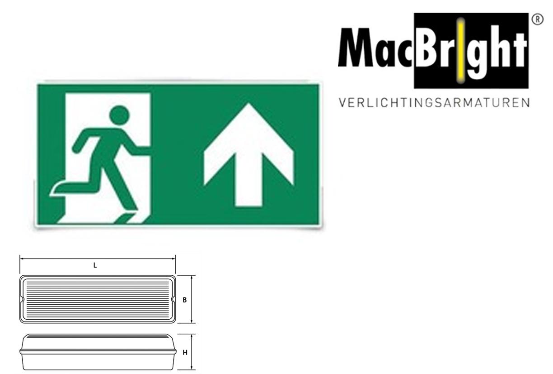 TEC pictogram-A man pijl uit/omhoog