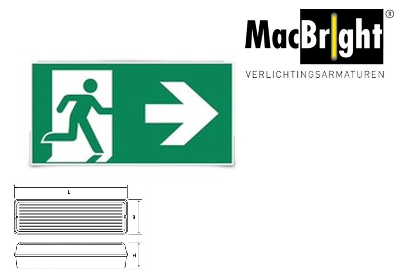 TEC pictogram-B man pijl rechts
