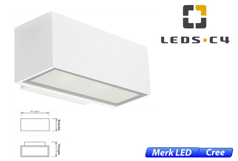 Afrodita LED downlighter 11,5W 1219lm 830 IK04 wit