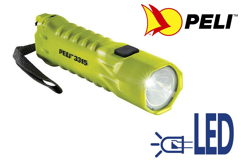 Peli 3315 L.E.D. Flashlight Z0 Peli 033150-0100-241E