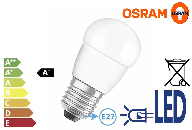 Osram LED Star Classic P 40 6W E27