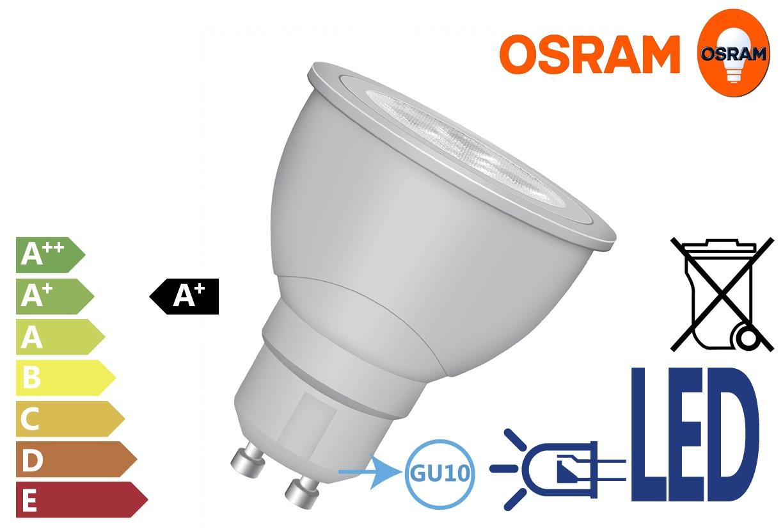 Osram LED STAR MR1620 5.5W GU10 vat.