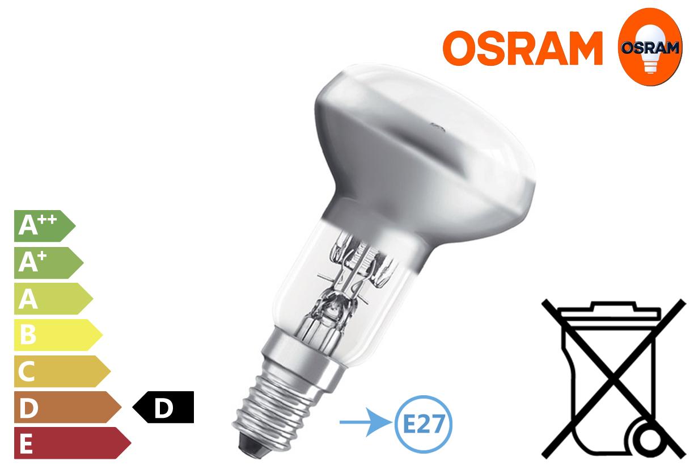 High-voltage spotlight 46W E27 stopcontact 230V