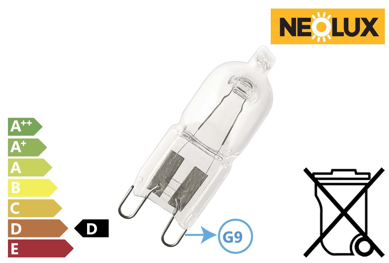 Halogeen energiebesparende lamp 33W 460Lm 230V
