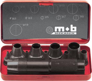 Holpijpset 3-20mm PEDDINGHAUS 8004209001